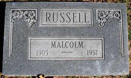 RUSSELL, MALCOLM - Conway County, Arkansas | MALCOLM RUSSELL - Arkansas Gravestone Photos