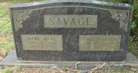 RIGGS SAVAGE, VELMA - Conway County, Arkansas | VELMA RIGGS SAVAGE - Arkansas Gravestone Photos