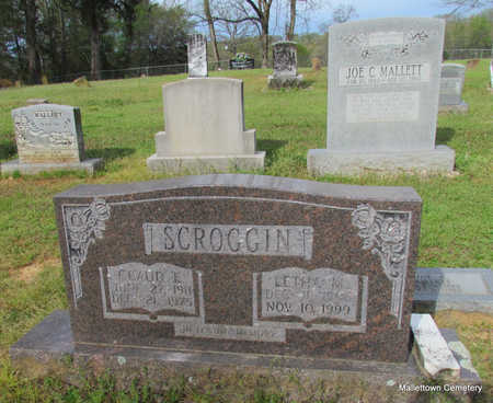 SCROGGIN, CLAUDE EARL - Conway County, Arkansas | CLAUDE EARL SCROGGIN - Arkansas Gravestone Photos