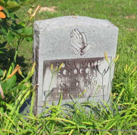 STOVER SCROGGIN, ROSA MAYE - Conway County, Arkansas | ROSA MAYE STOVER SCROGGIN - Arkansas Gravestone Photos