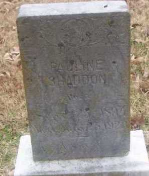 MOUROT SHADDON, PAULINE J. - Conway County, Arkansas | PAULINE J. MOUROT SHADDON - Arkansas Gravestone Photos
