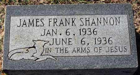 SHANNON, JAMES FRANK - Conway County, Arkansas | JAMES FRANK SHANNON - Arkansas Gravestone Photos