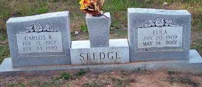 MEELER SLEDGE, EULA - Conway County, Arkansas | EULA MEELER SLEDGE - Arkansas Gravestone Photos