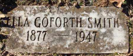 GOFORTH SMITH, ELLA - Conway County, Arkansas | ELLA GOFORTH SMITH - Arkansas Gravestone Photos