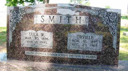 SMITH, ORVILLE - Conway County, Arkansas | ORVILLE SMITH - Arkansas Gravestone Photos