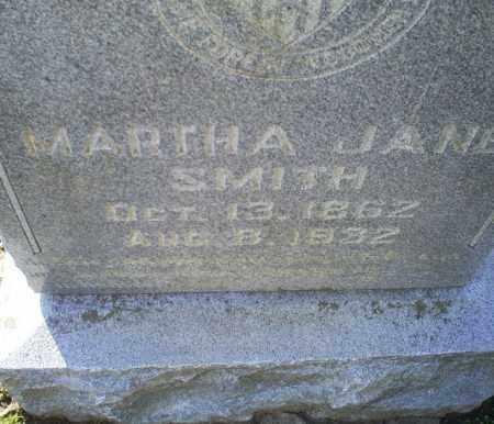 SMITH, MARTHA JANE - Conway County, Arkansas | MARTHA JANE SMITH - Arkansas Gravestone Photos