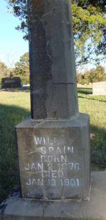 SPAIN, WILL - Conway County, Arkansas | WILL SPAIN - Arkansas Gravestone Photos