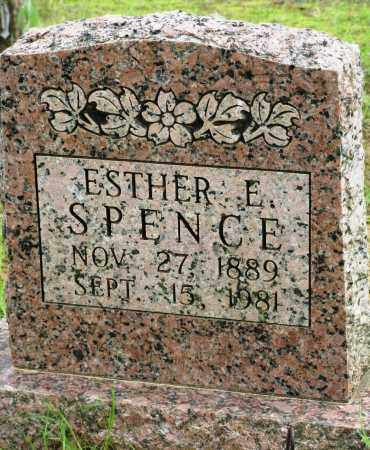 SPENCE, ESTHER E - Conway County, Arkansas | ESTHER E SPENCE - Arkansas Gravestone Photos