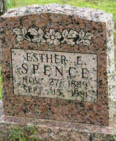 SPENCE, ESTHER E - Conway County, Arkansas   ESTHER E SPENCE - Arkansas Gravestone Photos
