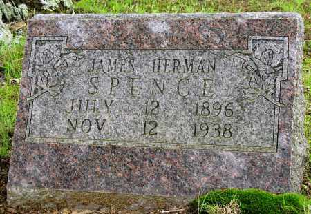SPENCE, JAMES HERMAN - Conway County, Arkansas | JAMES HERMAN SPENCE - Arkansas Gravestone Photos