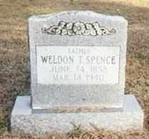 SPENCE, WELDON T - Conway County, Arkansas | WELDON T SPENCE - Arkansas Gravestone Photos