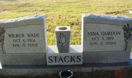 STACKS, WILBUR WADE - Conway County, Arkansas | WILBUR WADE STACKS - Arkansas Gravestone Photos