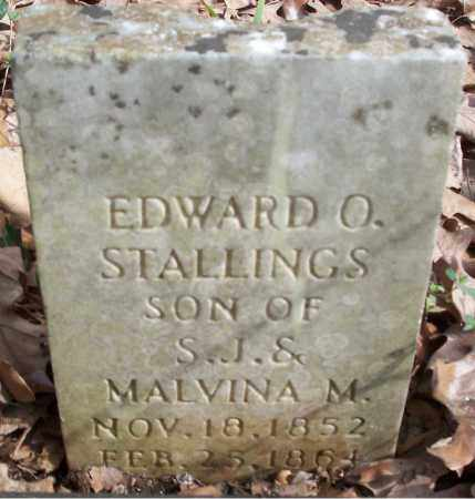 STALLINGS, EDWARD O - Conway County, Arkansas | EDWARD O STALLINGS - Arkansas Gravestone Photos
