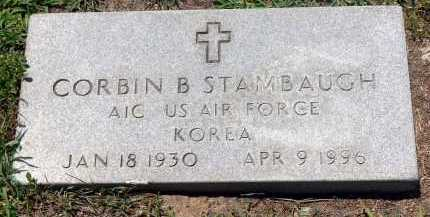 STAMBAUGH  (VETERAN KOR), CORBIN B. - Conway County, Arkansas | CORBIN B. STAMBAUGH  (VETERAN KOR) - Arkansas Gravestone Photos