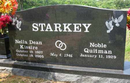 KISSIRE STARKEY, NELLA DEAN - Conway County, Arkansas | NELLA DEAN KISSIRE STARKEY - Arkansas Gravestone Photos