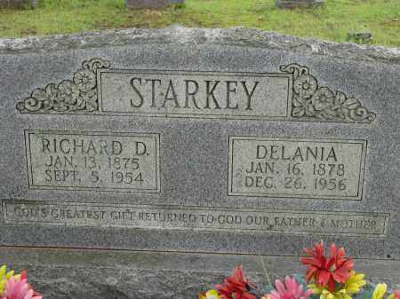STARKEY, RICHARD D - Conway County, Arkansas | RICHARD D STARKEY - Arkansas Gravestone Photos