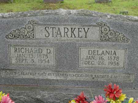 STARKEY, RICHARD D - Conway County, Arkansas | RICHARD D STARKEY - Arkansas Gravestone Photos