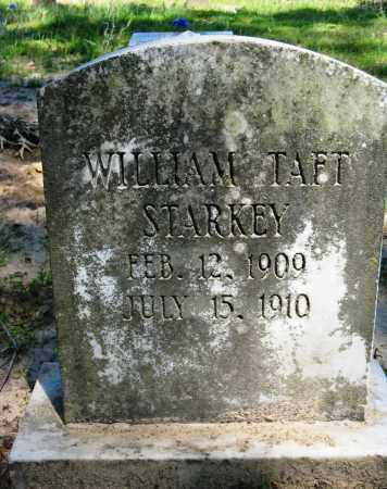 STARKEY, WILLIAM TAFT - Conway County, Arkansas | WILLIAM TAFT STARKEY - Arkansas Gravestone Photos