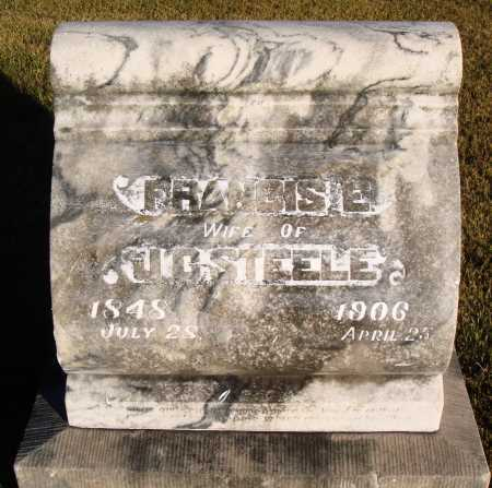 STEELE, FRANCIS E. - Conway County, Arkansas | FRANCIS E. STEELE - Arkansas Gravestone Photos