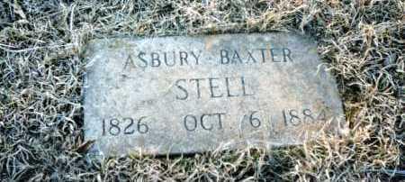 STELL, ASBURY BAXTER - Conway County, Arkansas | ASBURY BAXTER STELL - Arkansas Gravestone Photos