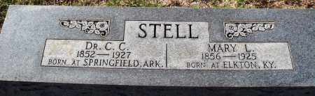 STELL, MARY L. - Conway County, Arkansas | MARY L. STELL - Arkansas Gravestone Photos