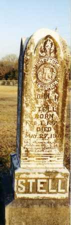 STELL, JOHN H. - Conway County, Arkansas | JOHN H. STELL - Arkansas Gravestone Photos