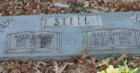 HANSARD STELL, WILLIE - Conway County, Arkansas | WILLIE HANSARD STELL - Arkansas Gravestone Photos