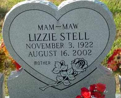 STELL, LIZZIE - Conway County, Arkansas | LIZZIE STELL - Arkansas Gravestone Photos