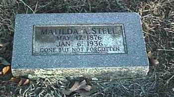 GIST STELL, MATILDA ARZELLA - Conway County, Arkansas | MATILDA ARZELLA GIST STELL - Arkansas Gravestone Photos