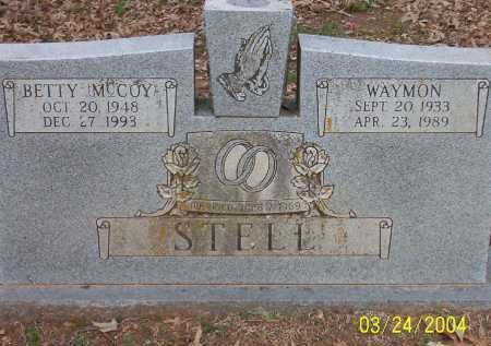 MCCOY STELL, BETTY - Conway County, Arkansas | BETTY MCCOY STELL - Arkansas Gravestone Photos