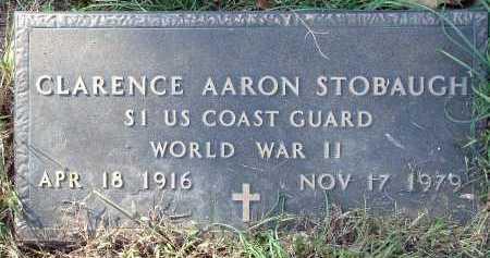 STOBAUGH  (VETERAN WWII), CLARENCE AARON - Conway County, Arkansas | CLARENCE AARON STOBAUGH  (VETERAN WWII) - Arkansas Gravestone Photos