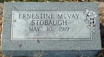 STOBAUGH, ERNESTINE - Conway County, Arkansas | ERNESTINE STOBAUGH - Arkansas Gravestone Photos