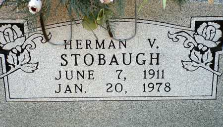 STOBAUGH, HERMAN VERNO - Conway County, Arkansas | HERMAN VERNO STOBAUGH - Arkansas Gravestone Photos