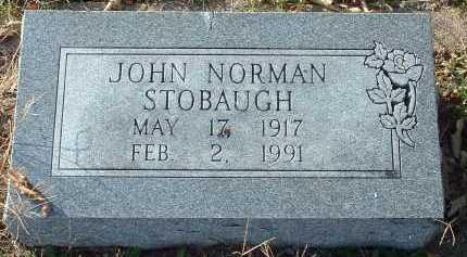 STOBAUGH, JOHN NORMAN - Conway County, Arkansas | JOHN NORMAN STOBAUGH - Arkansas Gravestone Photos