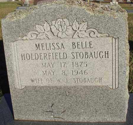 STOBAUGH, MELISSA BELLE - Conway County, Arkansas | MELISSA BELLE STOBAUGH - Arkansas Gravestone Photos