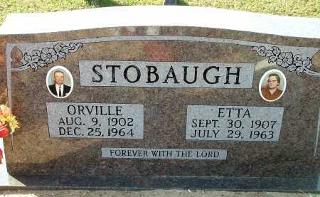 STOBAUGH, ORVILLE (ORVILLE THORNTON) - Conway County, Arkansas | ORVILLE (ORVILLE THORNTON) STOBAUGH - Arkansas Gravestone Photos