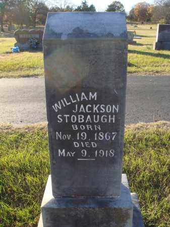 STOBAUGH, WILLIAM JACKSON - Conway County, Arkansas | WILLIAM JACKSON STOBAUGH - Arkansas Gravestone Photos
