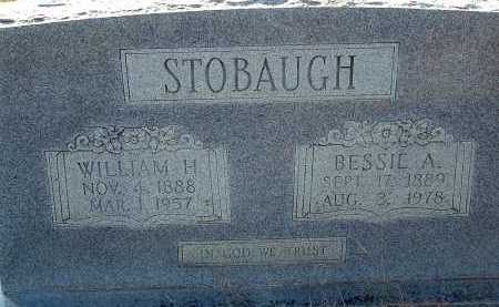 HOWARD STOBAUGH, BESSIE A. - Conway County, Arkansas | BESSIE A. HOWARD STOBAUGH - Arkansas Gravestone Photos