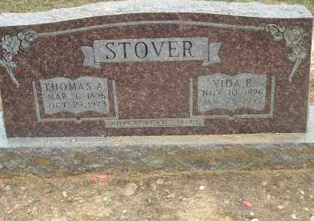 STOVER, THOMAS ALONZO - Conway County, Arkansas | THOMAS ALONZO STOVER - Arkansas Gravestone Photos