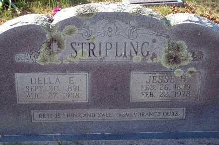 STOBAUGH STRIPLING, DELLA ELIZABETH - Conway County, Arkansas | DELLA ELIZABETH STOBAUGH STRIPLING - Arkansas Gravestone Photos