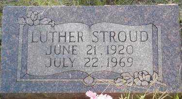 STROUD, LUTHER - Conway County, Arkansas | LUTHER STROUD - Arkansas Gravestone Photos