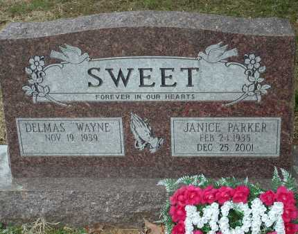 SWEET, DELMAS WAYNE - Conway County, Arkansas | DELMAS WAYNE SWEET - Arkansas Gravestone Photos