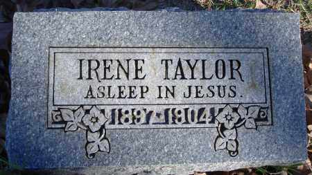 TAYLOR, IRENE - Conway County, Arkansas | IRENE TAYLOR - Arkansas Gravestone Photos