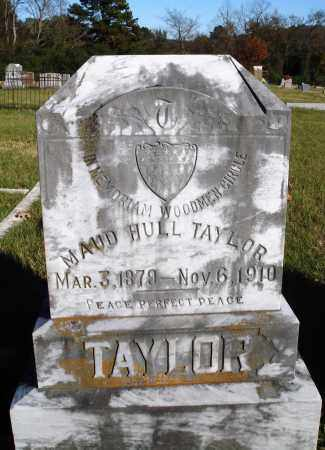 HULL TAYLOR, MAUD - Conway County, Arkansas | MAUD HULL TAYLOR - Arkansas Gravestone Photos
