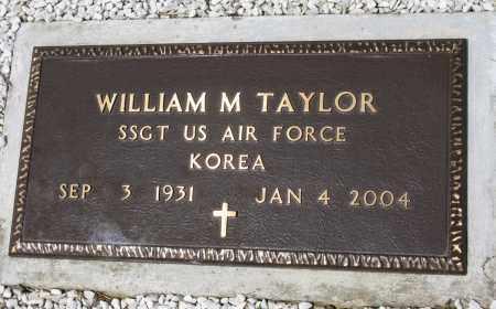 TAYLOR (VETERAN KOR), WILLIAM M - Conway County, Arkansas | WILLIAM M TAYLOR (VETERAN KOR) - Arkansas Gravestone Photos