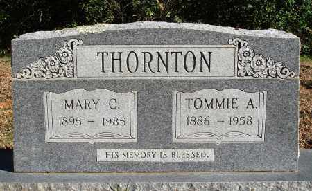 THORNTON, MARY C. - Conway County, Arkansas | MARY C. THORNTON - Arkansas Gravestone Photos
