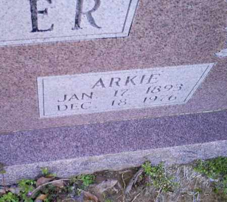 TINER, ARKIE - Conway County, Arkansas | ARKIE TINER - Arkansas Gravestone Photos