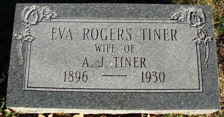 TINER, EVA - Conway County, Arkansas | EVA TINER - Arkansas Gravestone Photos