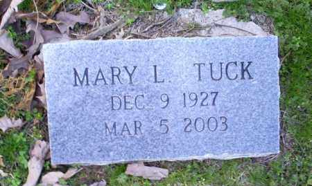 TUCK, MARY L. - Conway County, Arkansas | MARY L. TUCK - Arkansas Gravestone Photos