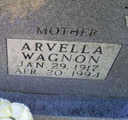 WAGNON, ARVELLA - Conway County, Arkansas | ARVELLA WAGNON - Arkansas Gravestone Photos